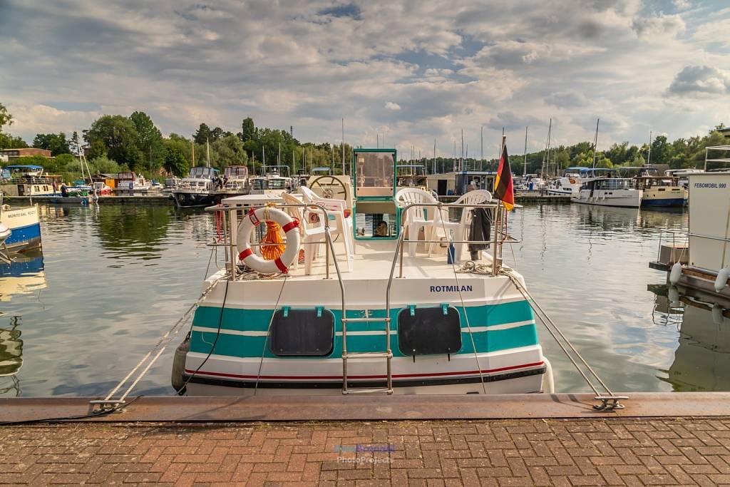 - 2020.07.25-27 Hausboot Müritz